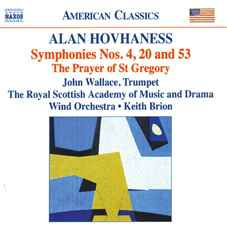 Hovhaness wind band symphonies