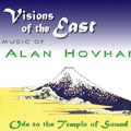 Alan Hovhaness Visions of the East CD